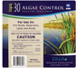algae control label