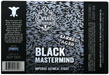 Balck mastermind beer label