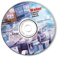 Weber bar code labeling software