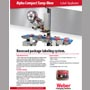 Packleader PL-501 label applicator spec sheet