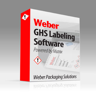 Weber GHS labeling software