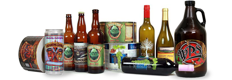 Weber Packaging Solutions makes high-quality craft beer and wine labels.